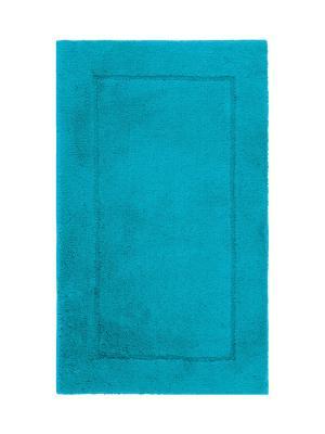Коврик для ванной ACCENT 60x100 Aquanova. Цвет: голубой