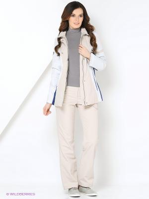 Спортивный костюм KARINA Maritta. Цвет: бледно-розовый, кремовый, сиреневый