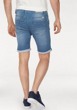 Джинсовые шорты Otto. Цвет: синий
