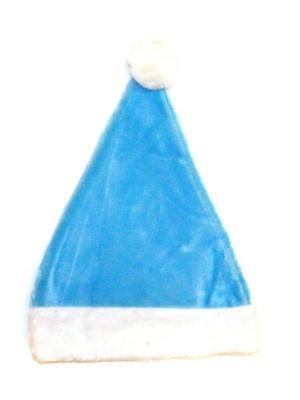 Колпак новогодний Lola. Цвет: голубой, белый
