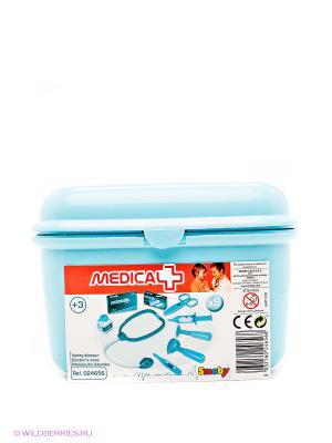 Набор доктора в чемодане Smoby. Цвет: голубой