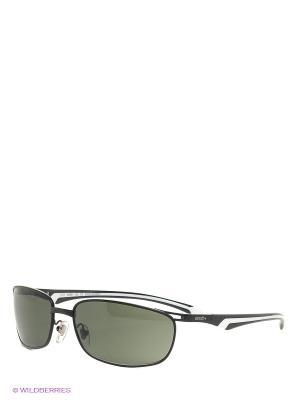Солнцезащитные очки RH 744 01 Zerorh. Цвет: черный