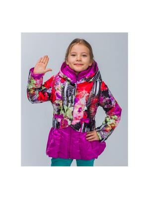 Куртка Пралеска. Цвет: сиреневый