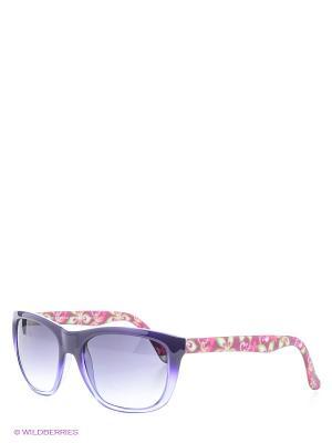 Солнцезащитные очки Franco Sordelli. Цвет: фиолетовый, зеленый, розовый