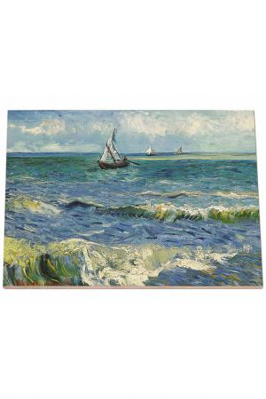 Морской пейзаж в Сент Мари Glambers. Цвет: мультицвет