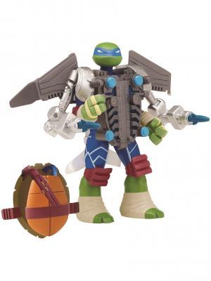 Черепашки-ниндзя супер-боевые панцири, Леонардо,  Mutation Playmates toys. Цвет: синий
