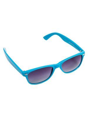 Солнцезащитные очки Kameo-bis. Цвет: синий, серый