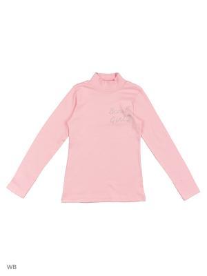 Водолазка для девочки Bonito kids. Цвет: розовый