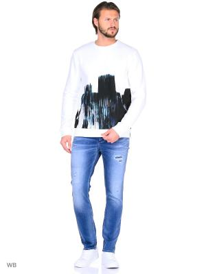 Свитшот Calvin Klein. Цвет: белый