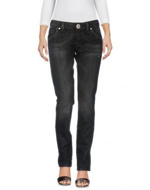 Джинсовые брюки S.O.S by ORZA STUDIO. Цвет: черный