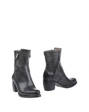 Полусапоги и высокие ботинки CORVARI. Цвет: стальной серый
