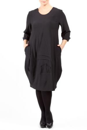 Платье Zedd Plus. Цвет: черный