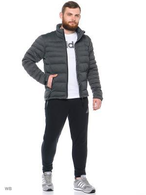 Куртка HT COMF DO J2 Adidas. Цвет: серый
