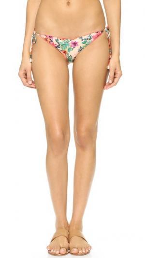 Плавки бикини Charlotte Ripple ViX Swimwear. Цвет: мульти