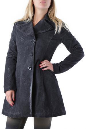 Пальто Sexy Woman. Цвет: серый