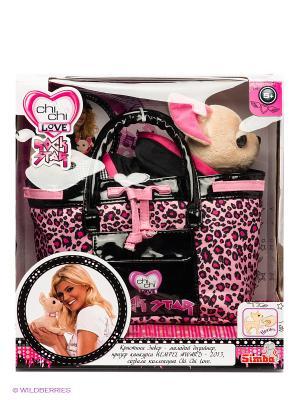 Мягкая игрушка Chi Love. Цвет: розовый, черный, бежевый