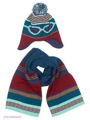 Комплект Wojcik. Цвет: морская волна, бирюзовый, бордовый