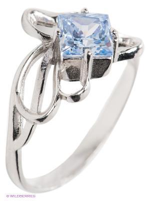 Кольцо Lovely Jewelry. Цвет: серебристый, голубой