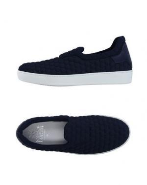 Низкие кеды и кроссовки ENRICO FANTINI. Цвет: темно-синий