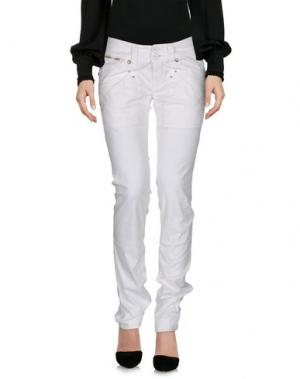 Повседневные брюки NOLITA DE NIMES. Цвет: белый