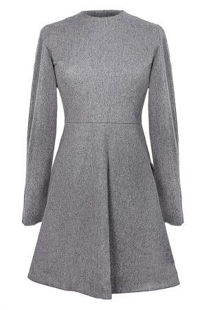 Платье Fermata. Цвет: серый
