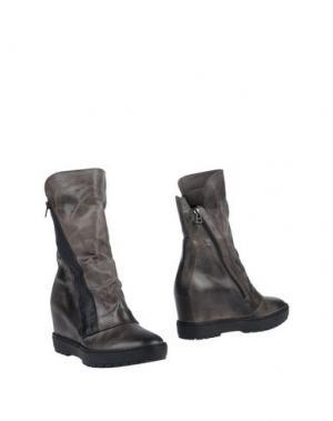 Полусапоги и высокие ботинки JANET SPORT. Цвет: серый