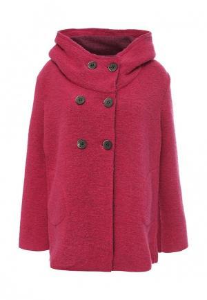 Пальто Aurora Firenze. Цвет: фуксия
