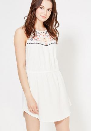 Платье Rip Curl. Цвет: белый