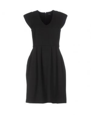 Короткое платье RAOUL. Цвет: черный