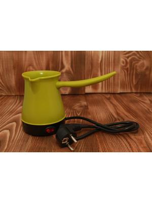 Турка электрическая с выключателем LEBEN. Цвет: зеленый
