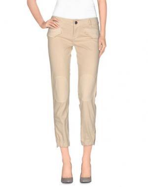Повседневные брюки JEI O'. Цвет: бежевый