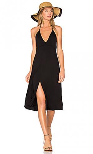 Платье salma Clayton. Цвет: черный
