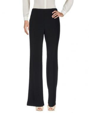 Повседневные брюки BIANCOGHIACCIO. Цвет: черный