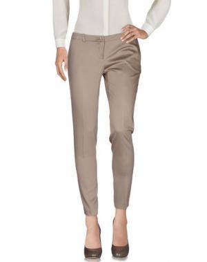 Повседневные брюки ANIYE BY. Цвет: хаки
