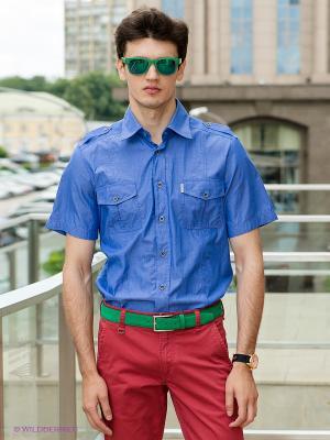 Рубашка Etiem. Цвет: синий
