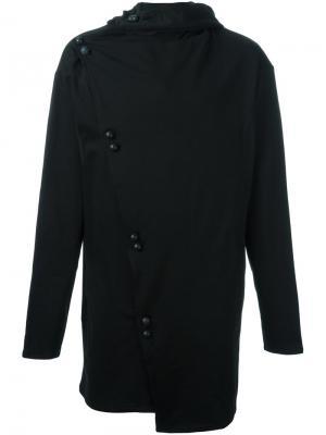 Пиджак с запахом Alchemy. Цвет: чёрный