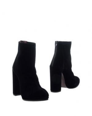 Полусапоги и высокие ботинки WO MILANO. Цвет: черный