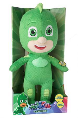 Мягкая игрушка со звуком 38 см Герои в масках. Цвет: зеленый