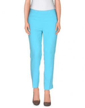 Повседневные брюки GIANLUCA CAPANNOLO. Цвет: бирюзовый