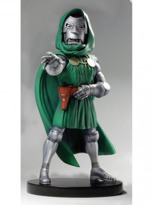 Фигурка Dr Doom 8 Head Knocker XL Neca. Цвет: зеленый, бронзовый, серебристый