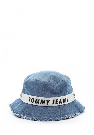 Панама Tommy Jeans. Цвет: голубой