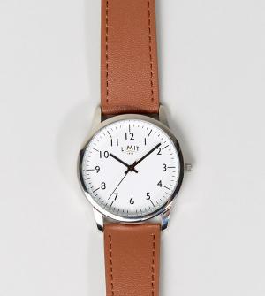 Limit Часы со светло-коричневым ремешком эксклюзивно для ASOS. Цвет: рыжий