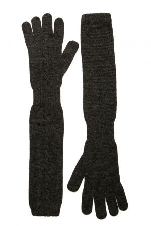 Кашемировые перчатки 181138 Andre Maurice. Цвет: серый