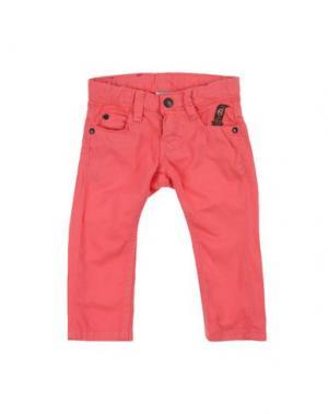 Повседневные брюки IMPS&ELFS. Цвет: коралловый