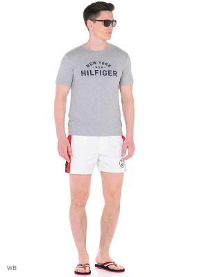 Бордшорты Tommy Hilfiger. Цвет: белый