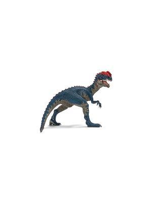 Дилофозавр SCHLEICH. Цвет: серый