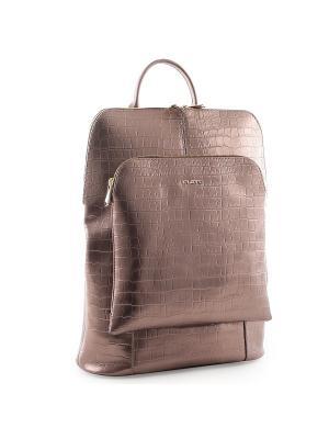 Рюкзак Fiato. Цвет: бронзовый
