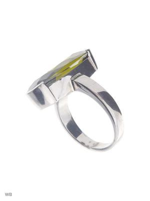 Кольцо Мастер Клио. Цвет: оливковый, серебристый