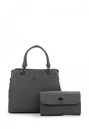 Комплект сумок 2 шт. Janes Story Jane's. Цвет: серый