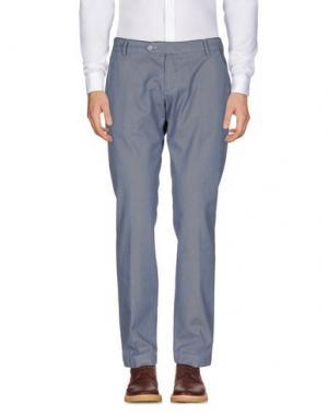 Повседневные брюки MICHAEL COAL. Цвет: синий